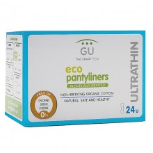 Ultrathin organic cotton panty liners
