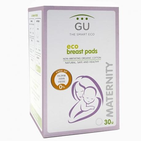 Discos de lactancia de algodón 100% ecológico
