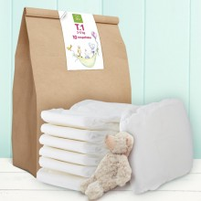 GU Eco Diapers. Tested as non-irritating. S1/10u.