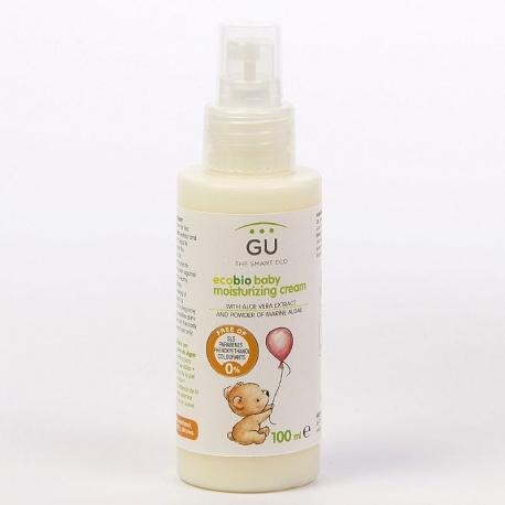 Crema Hidratante Ecológica para bebés con Aloe Vera y Caléndula